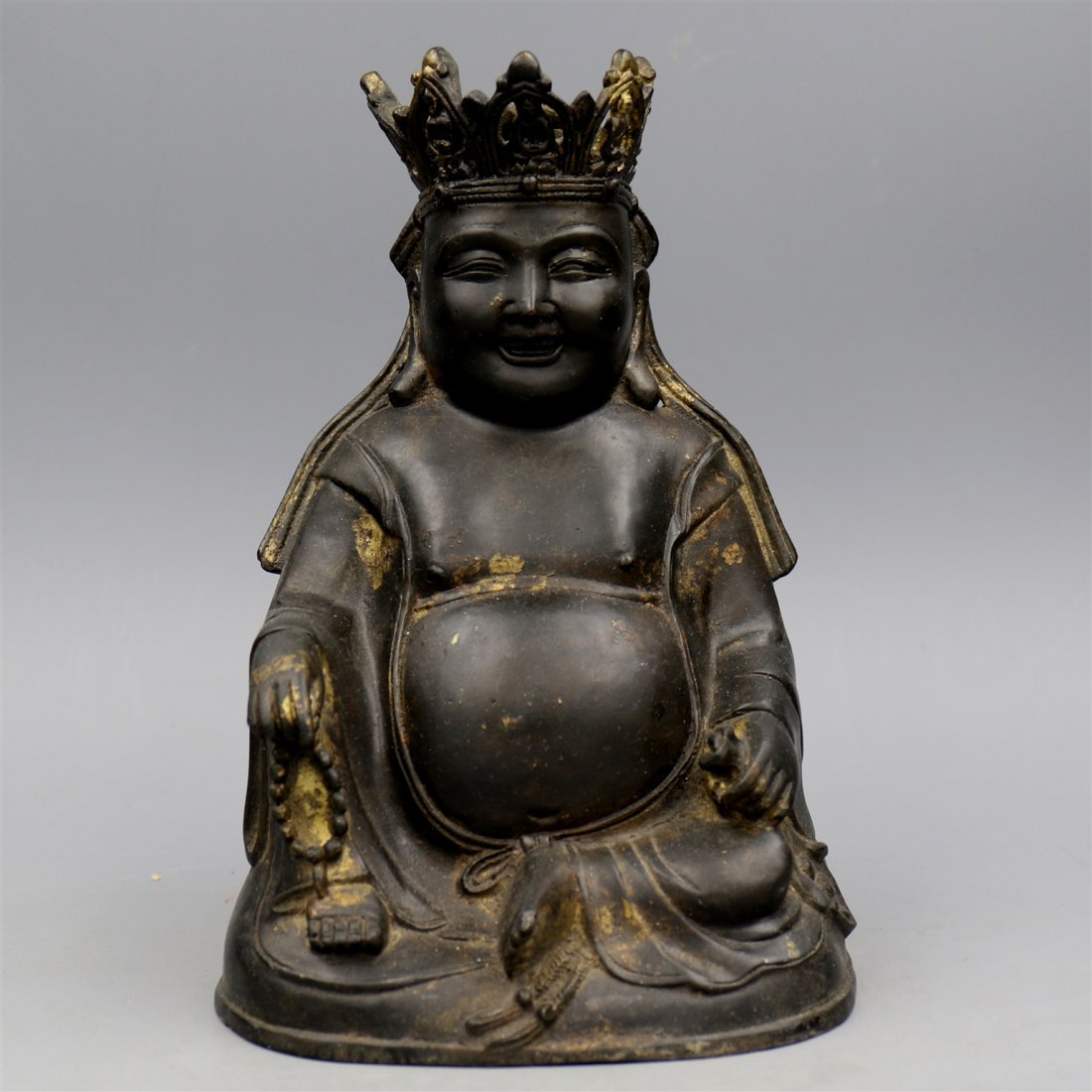 Chinese Bronze Buddha Figure.