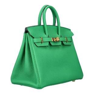 "HERMÈS icon handbag ""BIRKIN BAG 25"", Coll.: 2020."