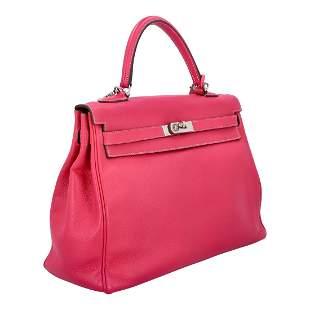 "HERMÈS handbag ""KELLY BAG 35"", collection 2011."