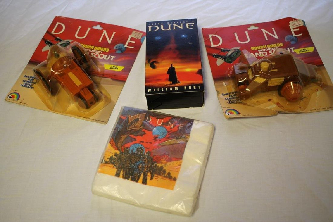 Four piece Dune collection