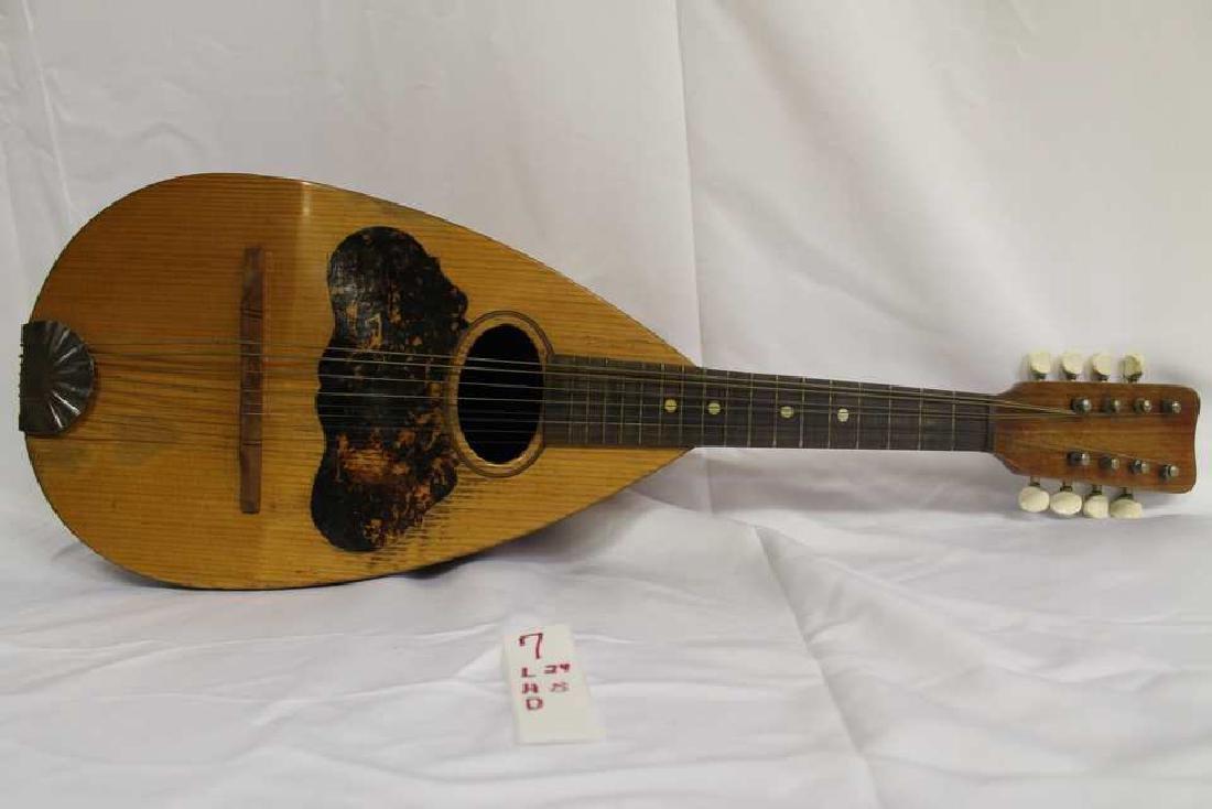 Ornate 8 string Mandolin