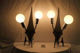 Pair of Mid century Modern Desk lamps
