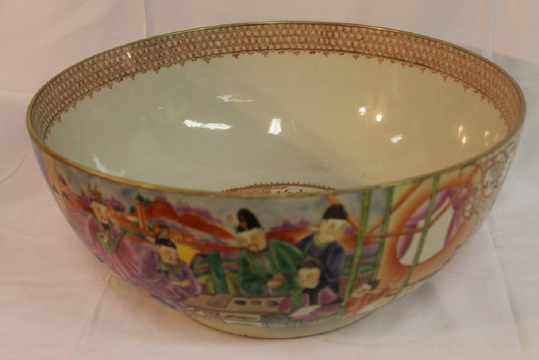 Large Oriental bowl