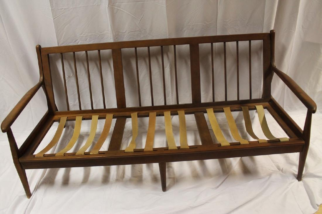 Danish Mid-century 3 seat Sofa with straps