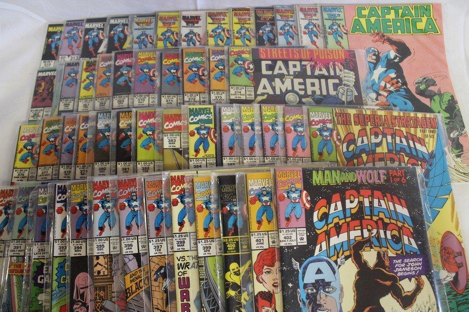 Captain America comic book lot