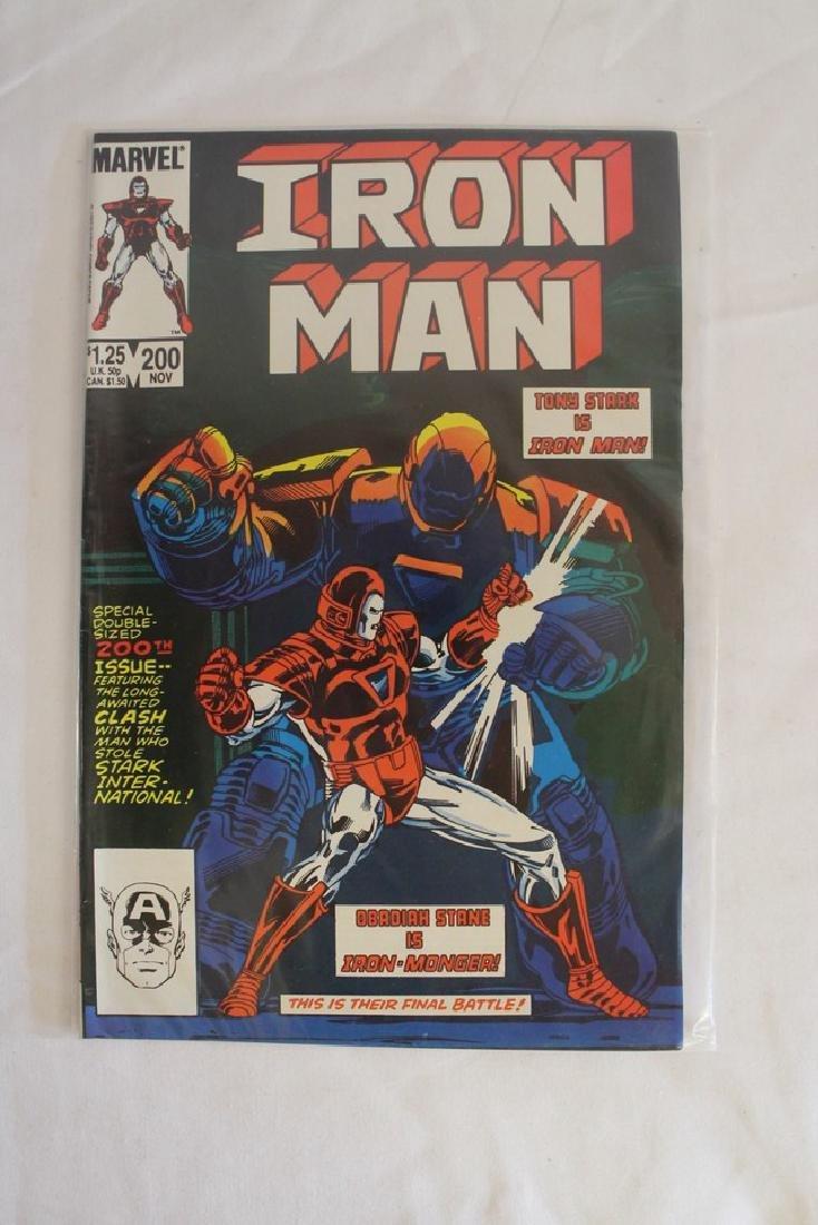Iron man comic book lot - 4