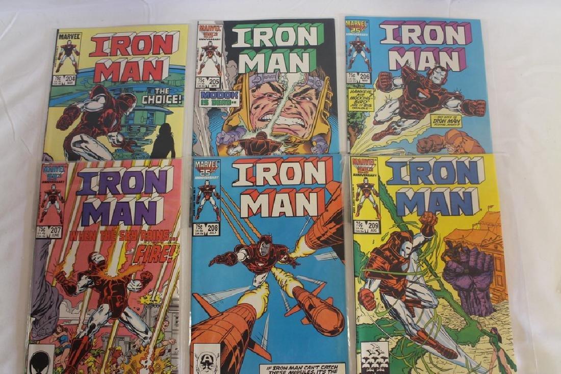 Iron man comic book lot - 5