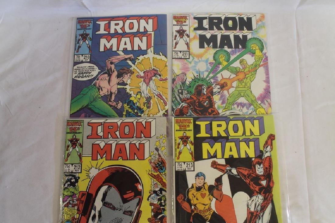 Iron man comic book lot - 6