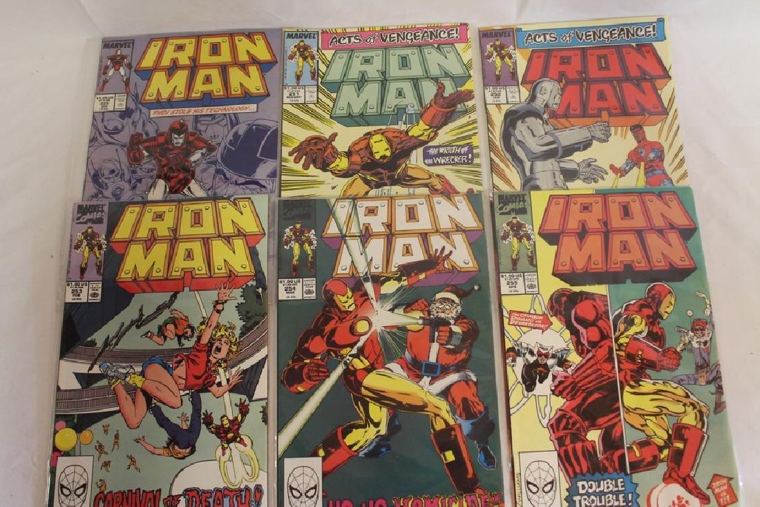 Iron man comic book lot - 7