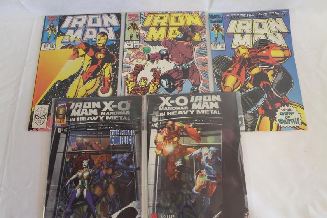 Iron man comic book lot - 8