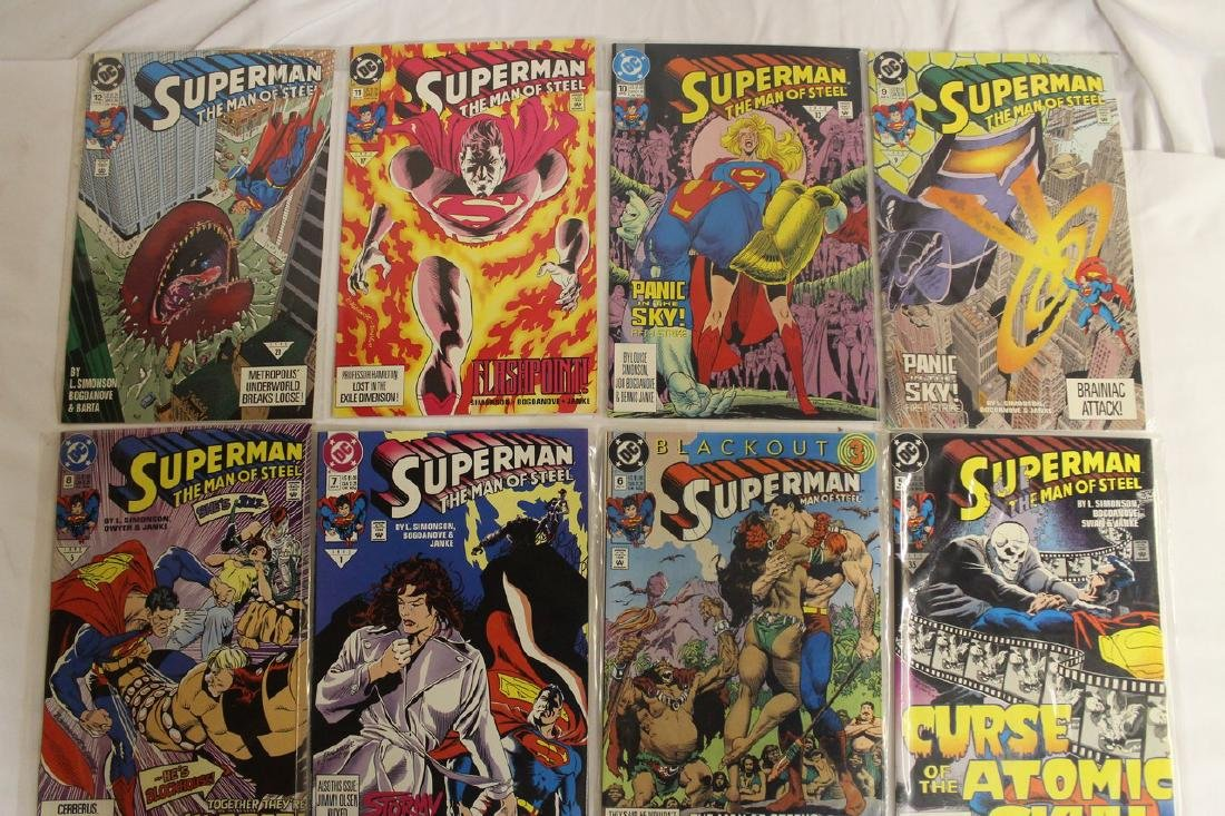 Superman Comic book lot - 3