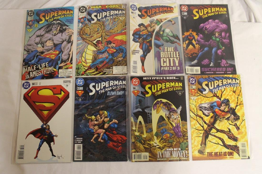 Superman Comic book lot - 4