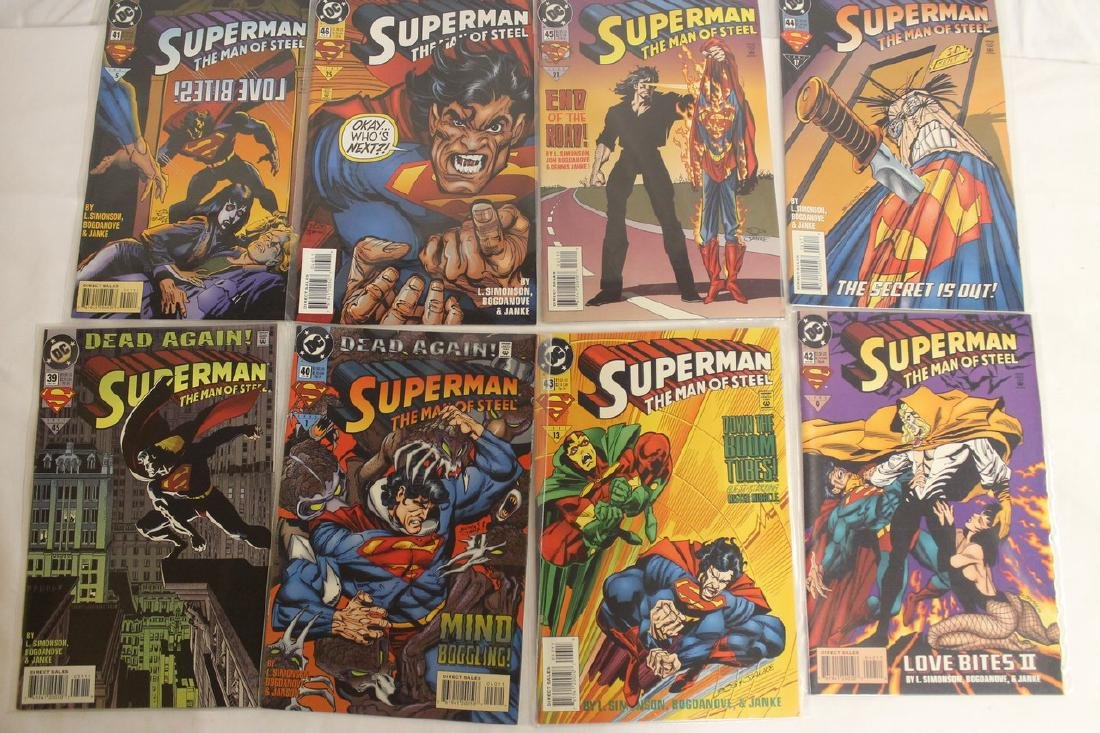 Superman Comic book lot - 6