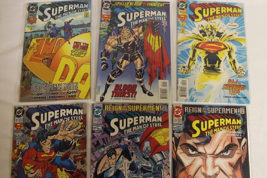 Superman Comic book lot - 8