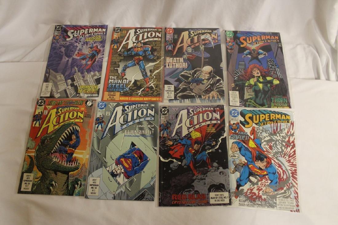 Superman Comic book lot - 10
