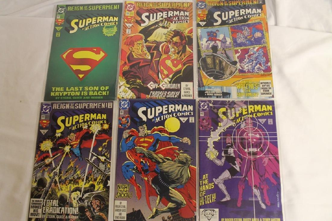 Superman Comic book lot - 5