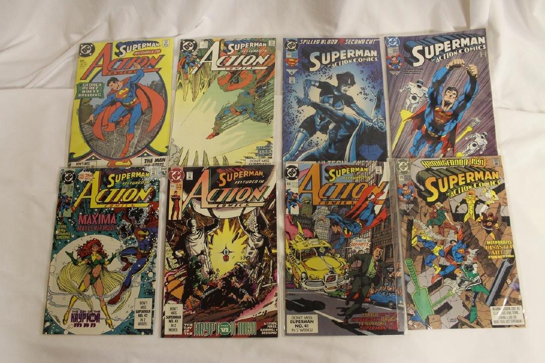 Superman Comic book lot - 9