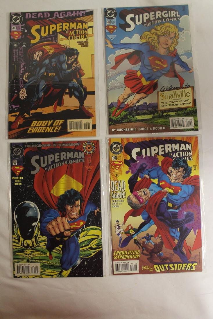 Superman Comic book lot - 2