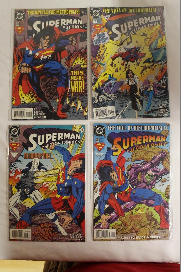 Superman Comic book lot - 3