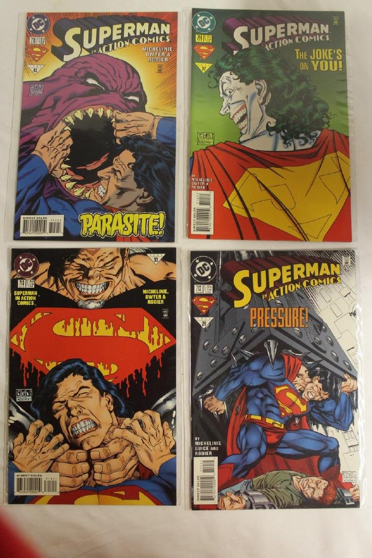 Superman Comic book lot - 4