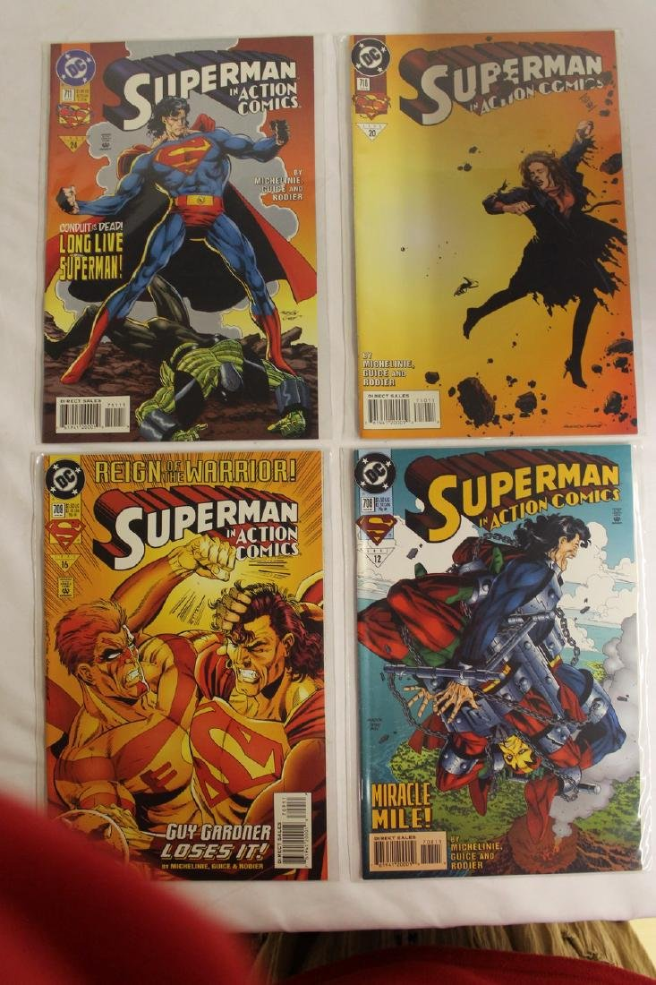 Superman Comic book lot - 5
