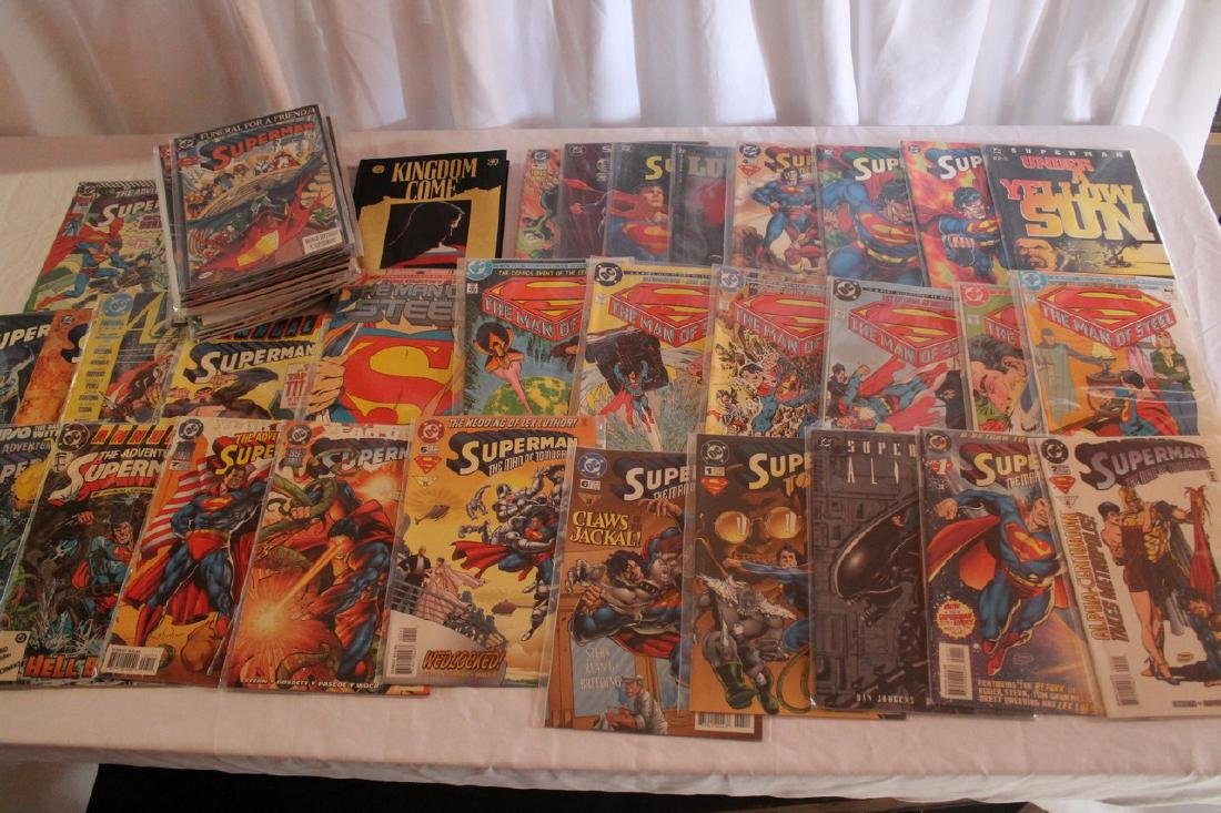 Superman Comic book lot