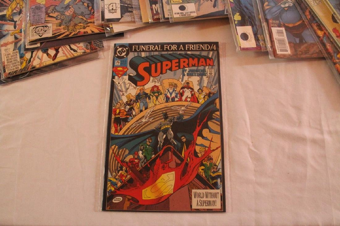 Superman Comic book lot - 6