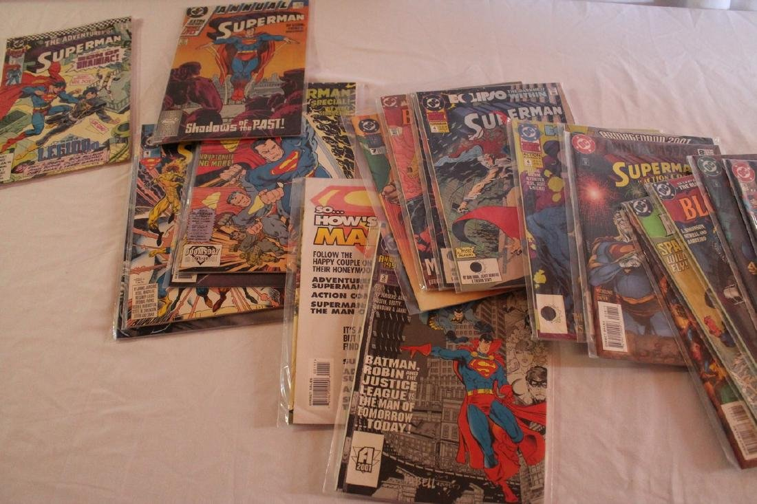 Superman Comic book lot - 7