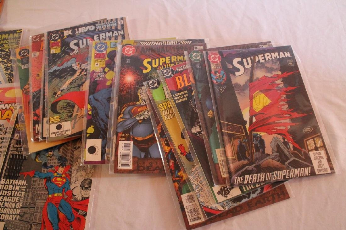 Superman Comic book lot - 8