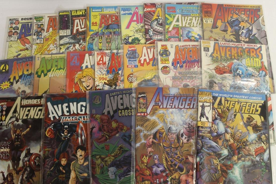 Avengers comic book lot