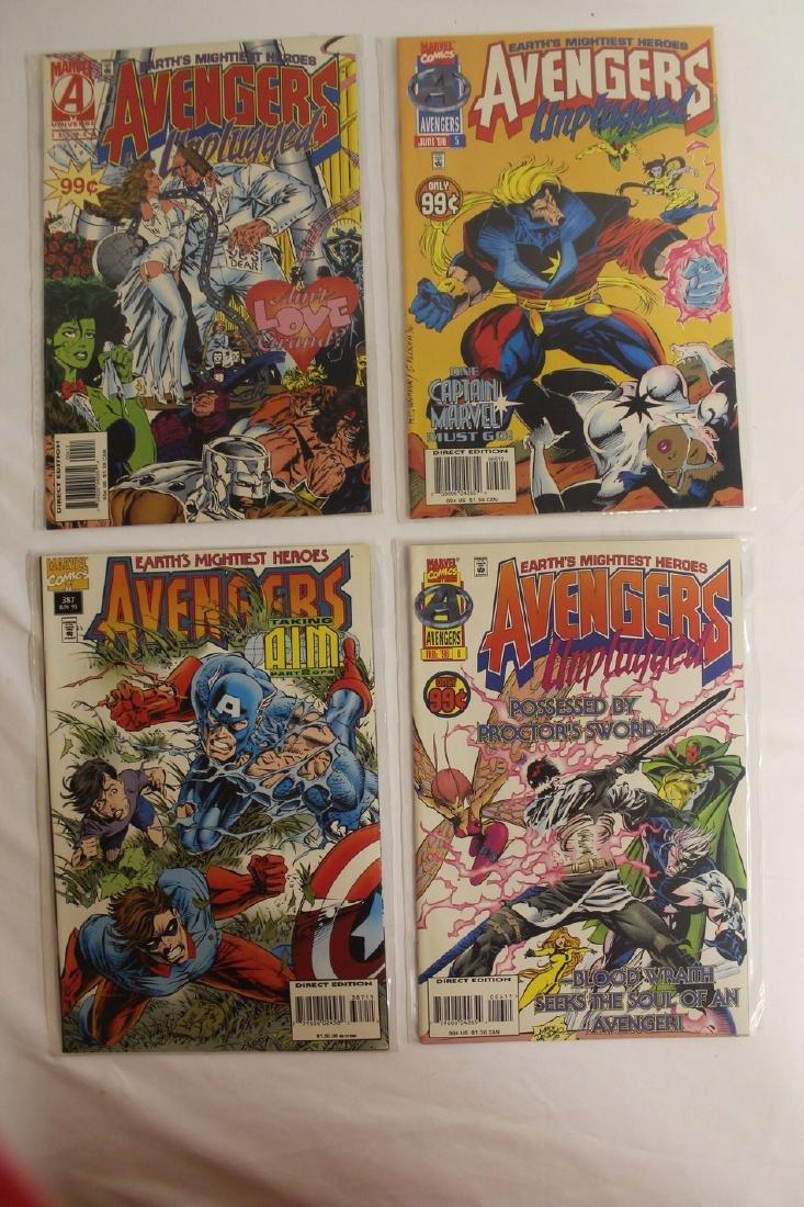 Avengers comic book lot - 4