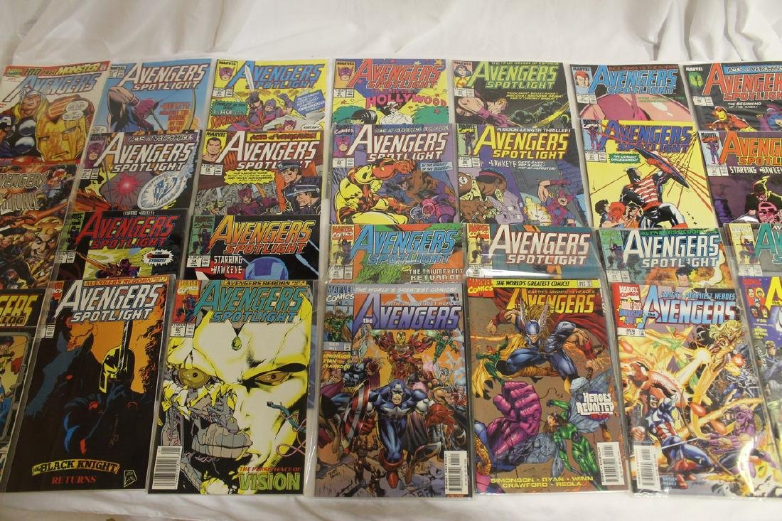 Avengers comic book lot