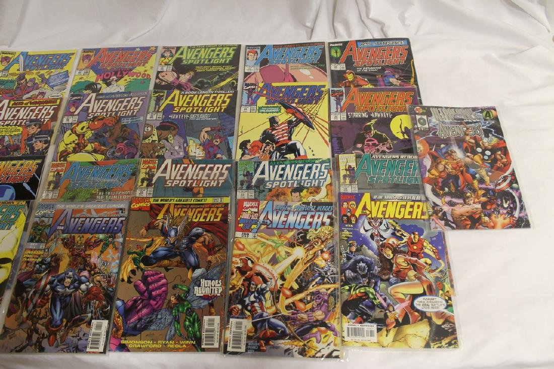 Avengers comic book lot - 2