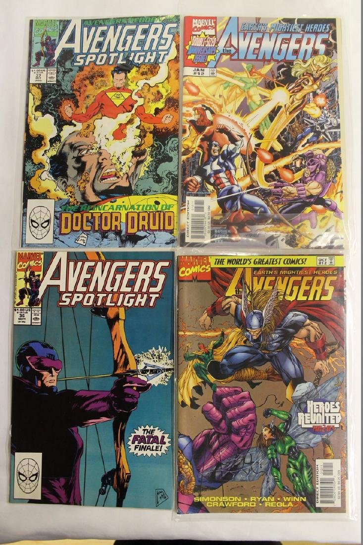 Avengers comic book lot - 4