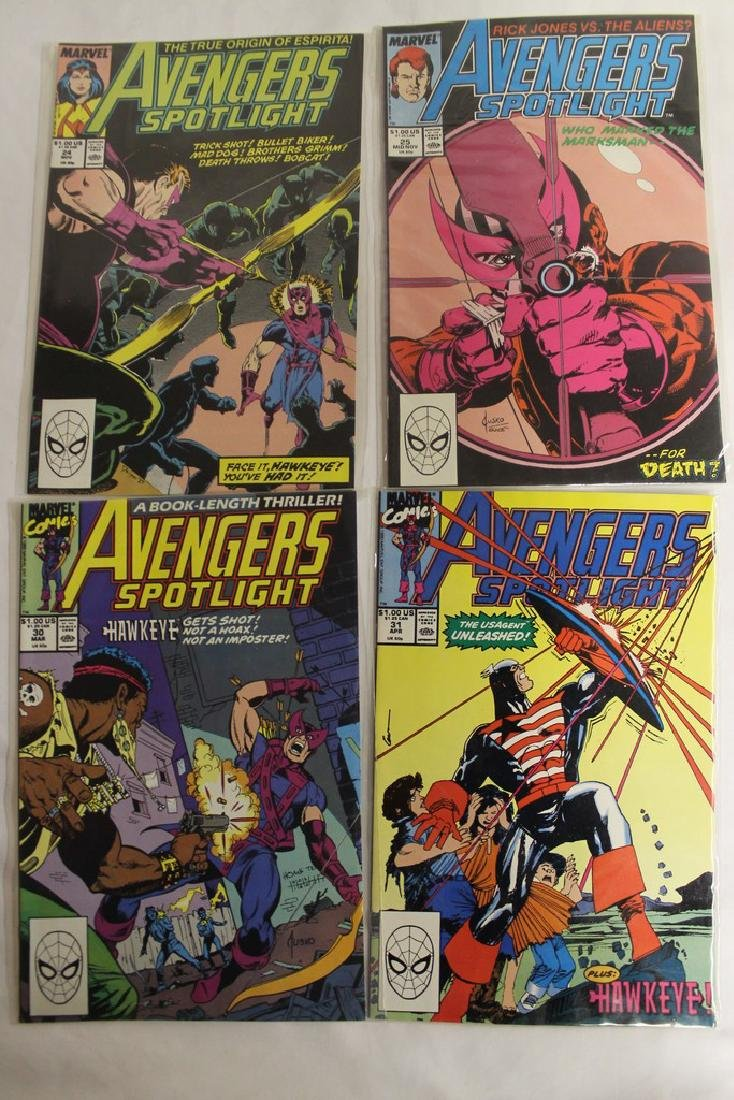 Avengers comic book lot - 5