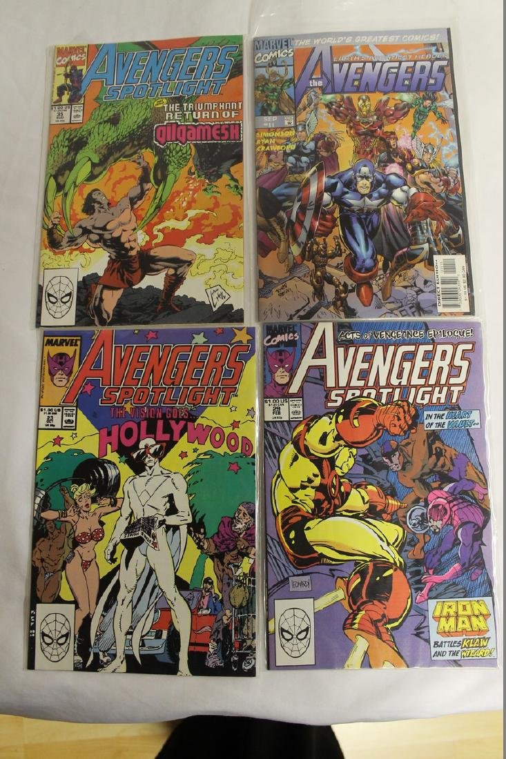 Avengers comic book lot - 6