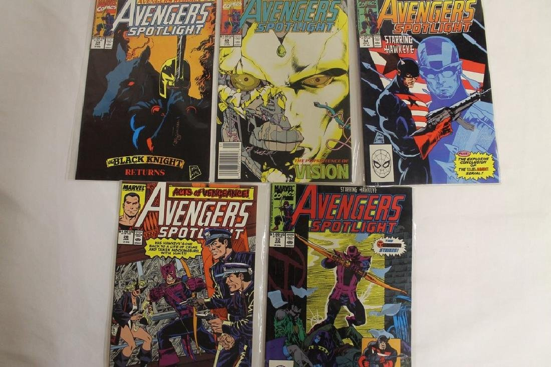 Avengers comic book lot - 7
