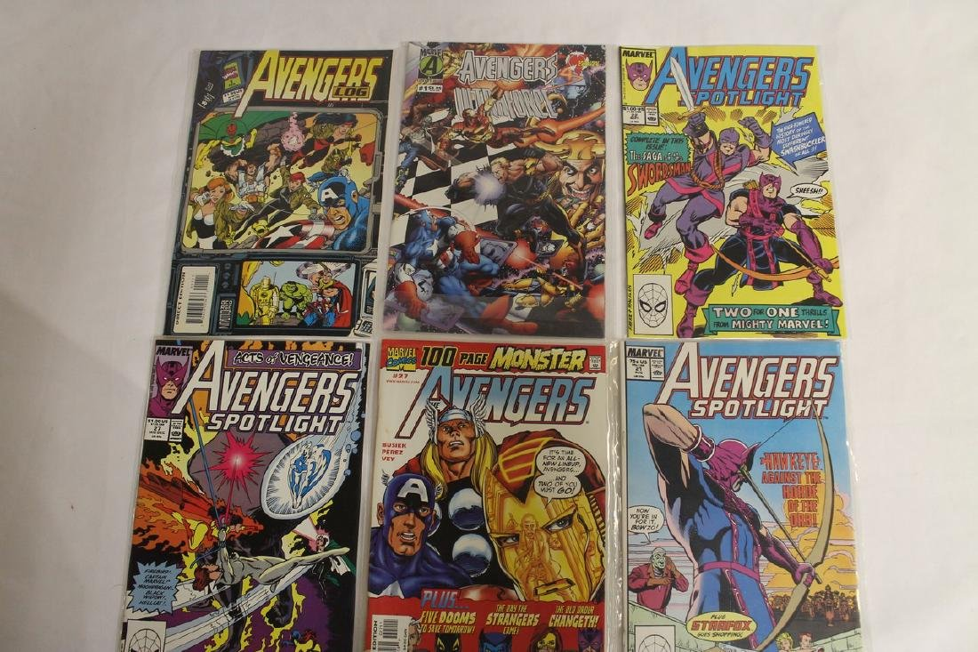 Avengers comic book lot - 8