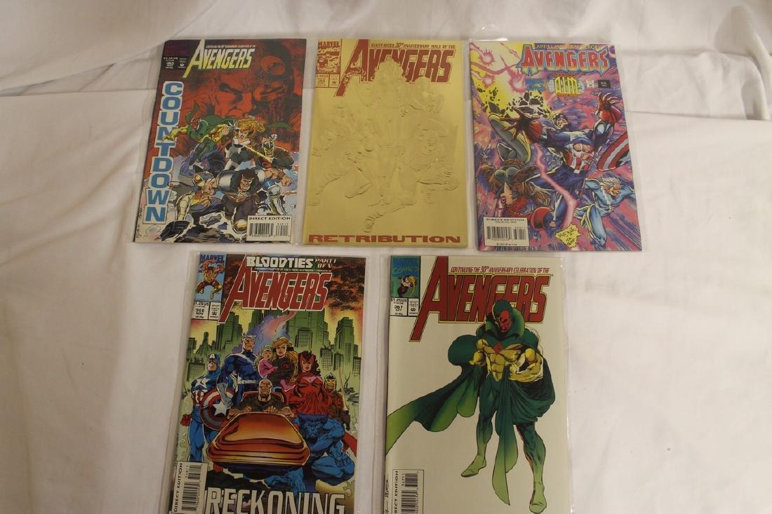 Avengers comic book lot - 10
