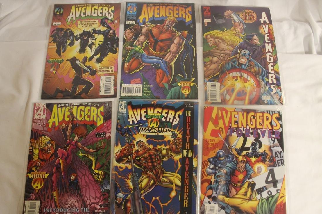 Avengers comic book lot - 7