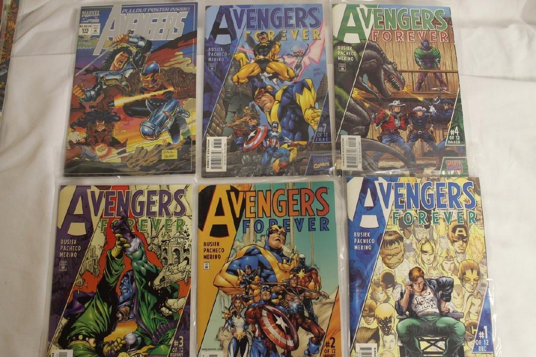 Avengers comic book lot - 8