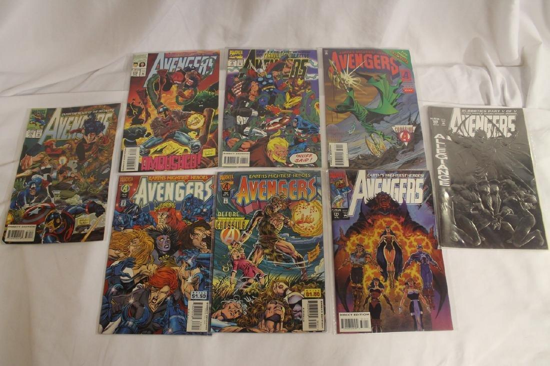 Avengers comic book lot - 9