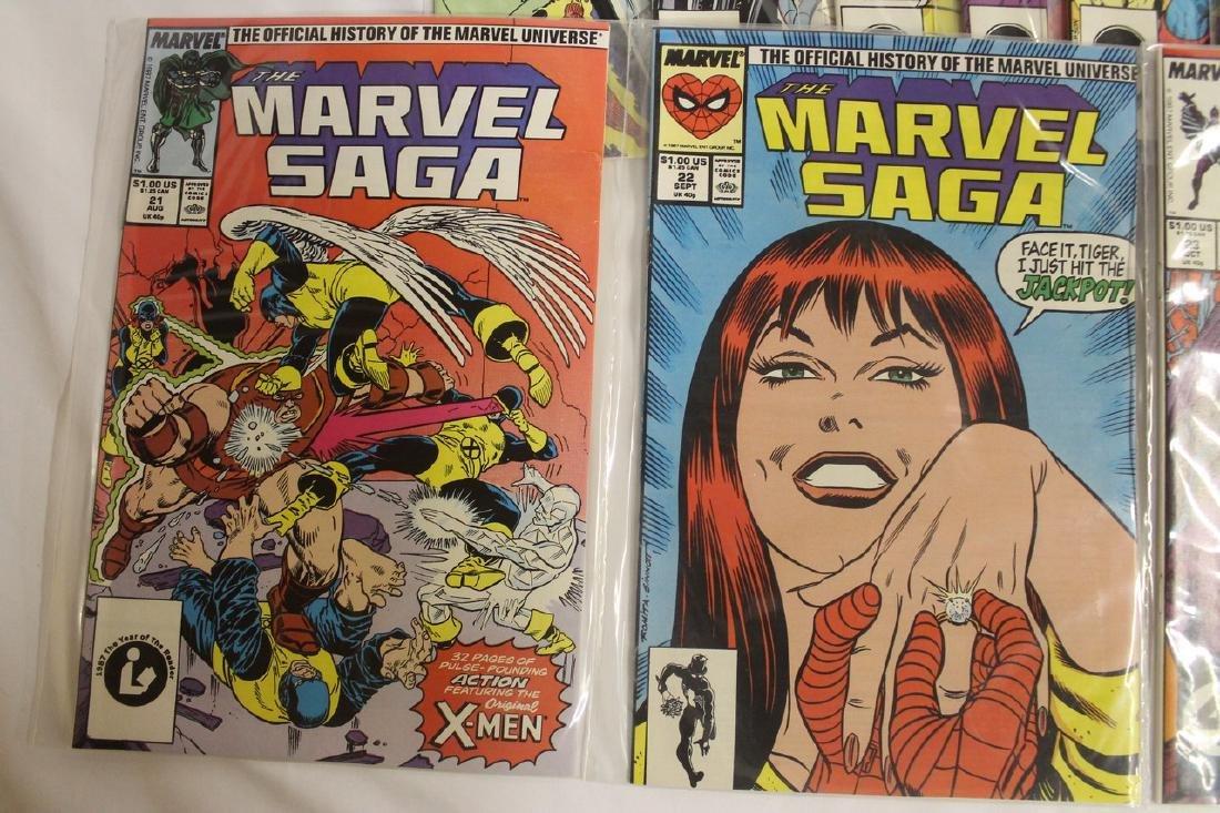 Marvel Super Heroes and Marvel Saga comic lot - 2