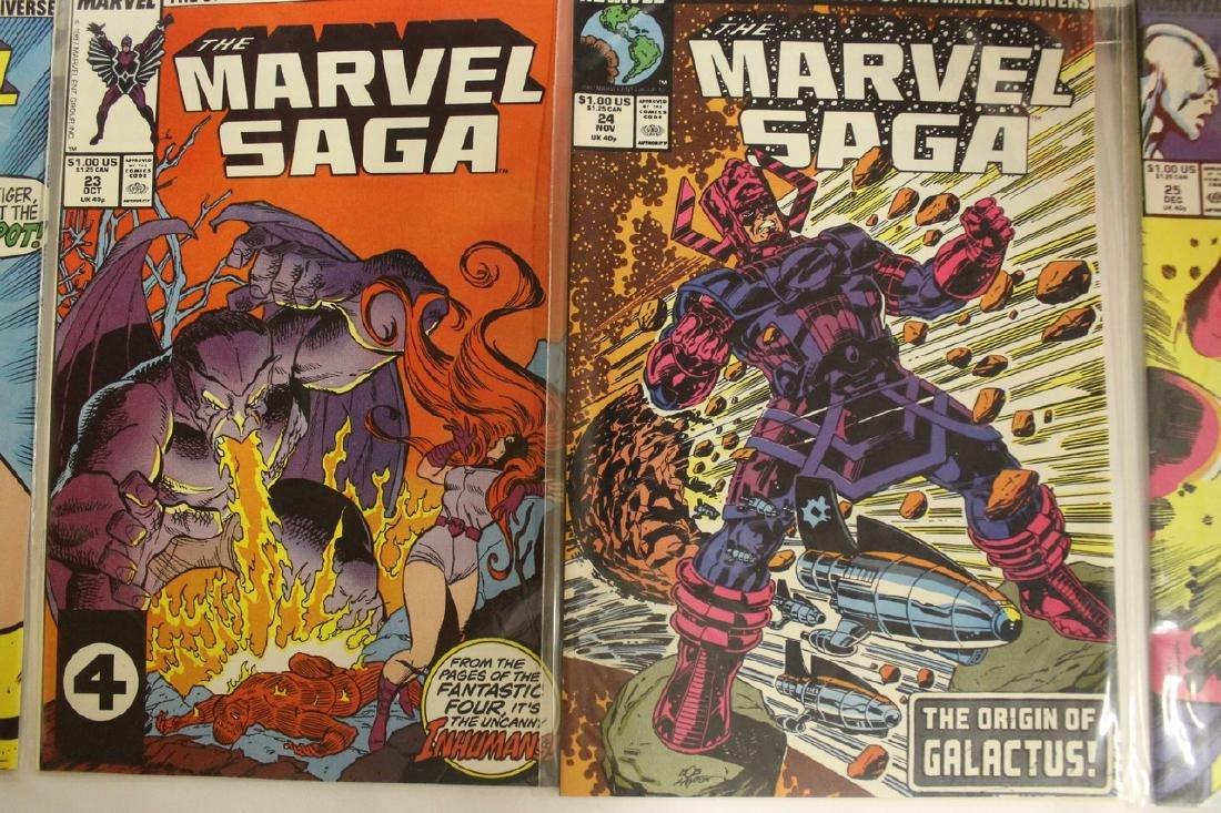 Marvel Super Heroes and Marvel Saga comic lot - 3