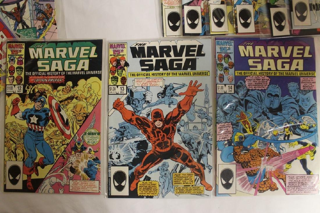Marvel Super Heroes and Marvel Saga comic lot - 4