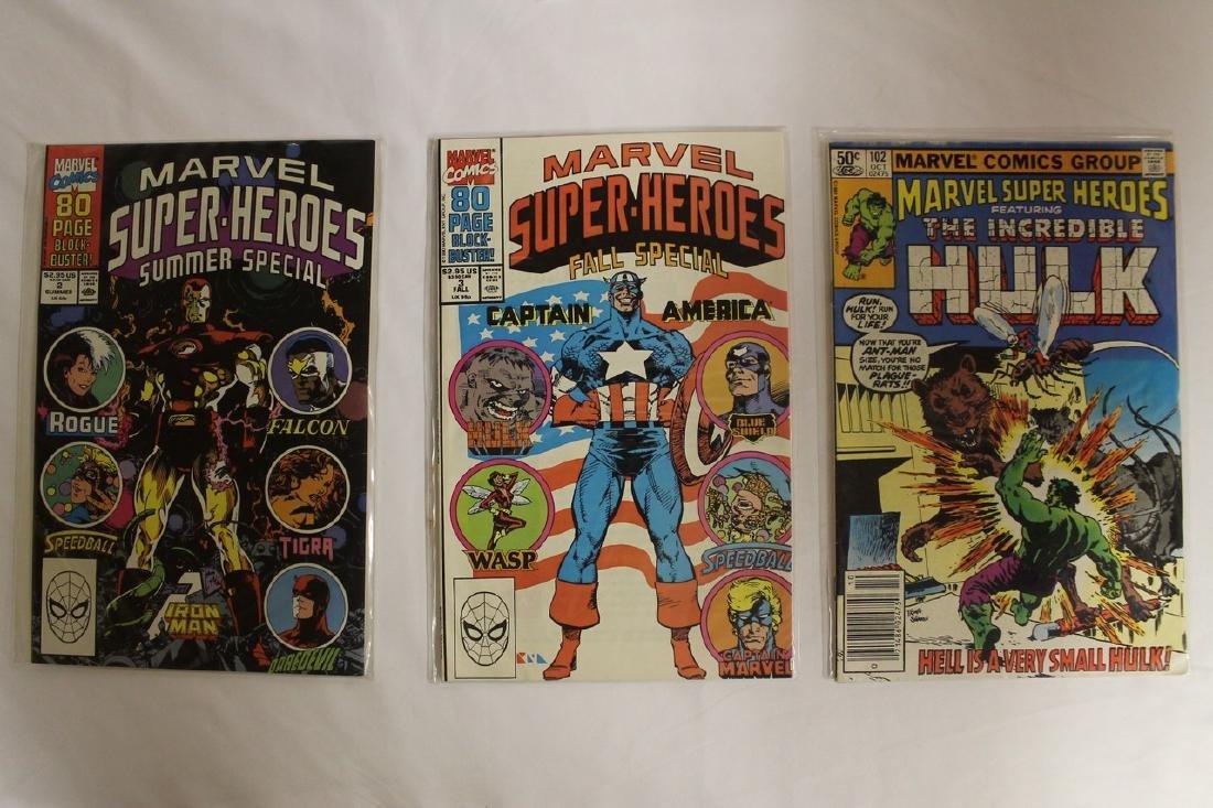 Marvel Super Heroes and Marvel Saga comic lot - 6
