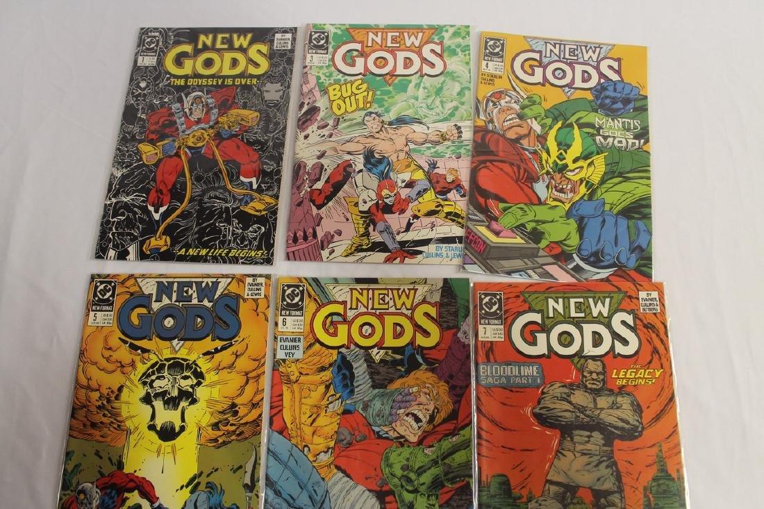 New Gods comic lot - 2