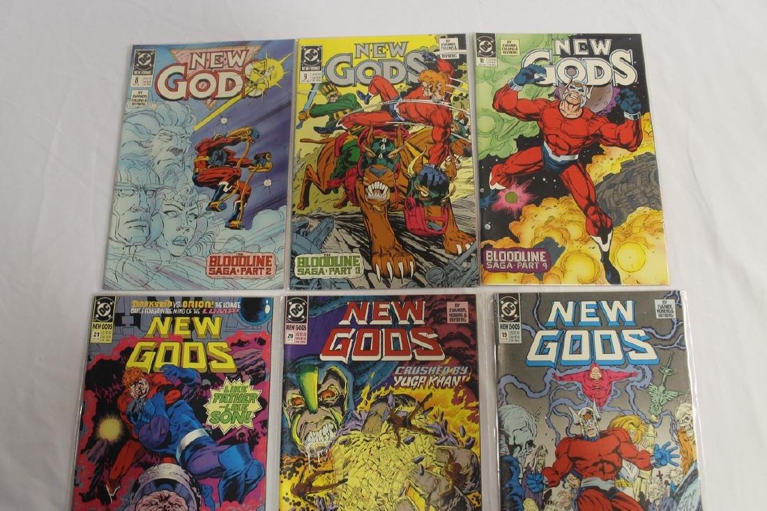 New Gods comic lot - 3