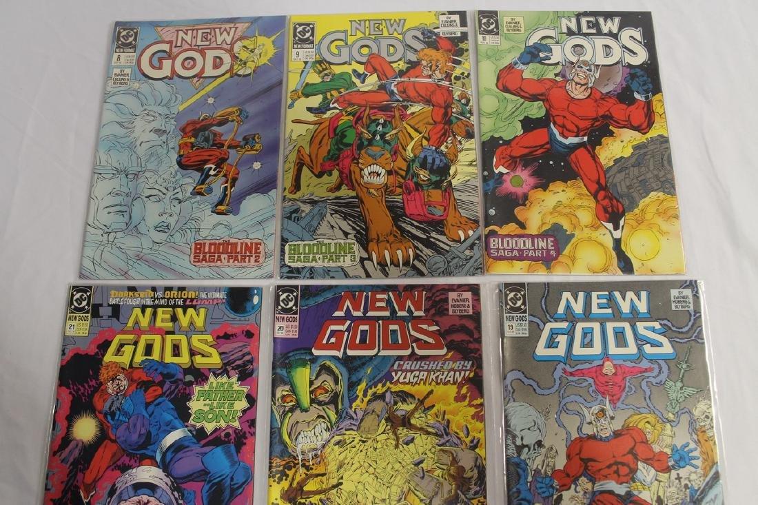 New Gods comic lot - 4