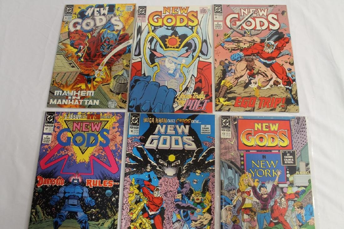 New Gods comic lot - 5